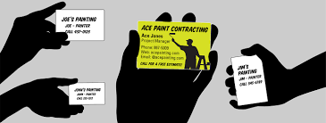 Business Cards Painting Maximize Your Business Card Roi Tips From Sherwin Williams