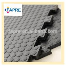 non toxic anti slip mats interlocked pvc floor mat interlocking