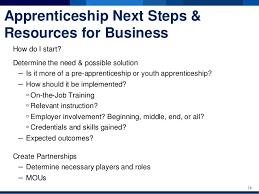 youth apprenticeship nofo q u0026a session