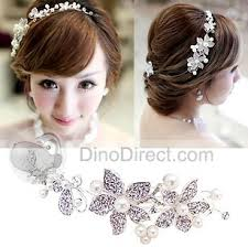 headdress for wedding xdian pearl diamond chain frontal flower headdress wedding