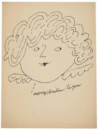 andy warhol u0027s christmas art open culture
