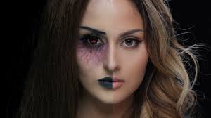 Face Makeup Designs For Halloween by Half Face Halloween Makeup Ideas Everyone Love To Try A Diy Projects