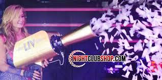 confetti cannon hypemaker vip confetti cannon co2 gerb launcher nightclubshop