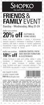 Shopko Outdoor Furniture Shopko Coupons Printable Coupons In Store U0026 Coupon Codes