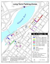 Circuit Of The Americas Map by Downtown Parking Information City Of Oregon City