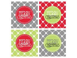 free christmas tags templates printable printable template 2017