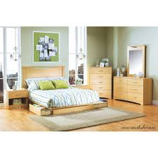 Bedroom Furniture Storage by South Shore Soho Full Queen Storage Platform Bed And Headboard