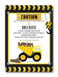 construction baby shower new construction baby shower invitation templates and medium size