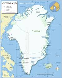 Map Of Northern America by Map Of Greenland Nations Online Project