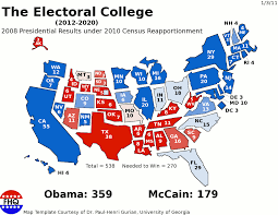 Map Election by Frontloading Hq A View Of The 2008 Presidential Election Results
