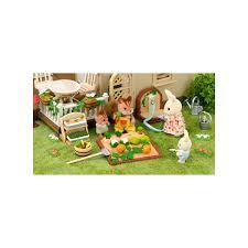Sylvanian Families Garden - sylvanian families vegetable garden set 5026 kerrison toys