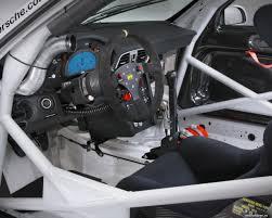 porsche cars interior forward places and steering column porsche 911 997 gt3 cup car