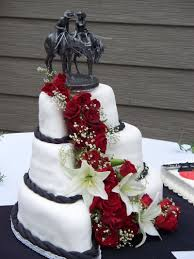 western wedding cakes country western rustic wedding time for the holidays