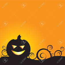 a glowing background for halloween perfect for a card or
