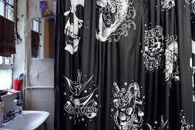 Skull Shower Curtain Hooks Kohls Shower Curtain Hooks Casanovainterior