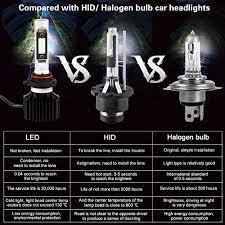 light bulb conversion to led 9005 hb3 led high beam headlight bulbs conversion kit sealight 9145