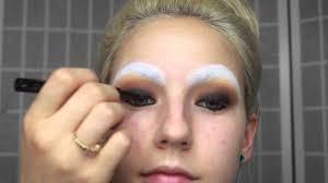 halloween mime makeup misunderstood mime halloween tutorial youtube