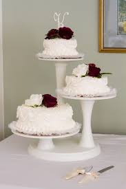 ornate buttercream decorated wedding cakes
