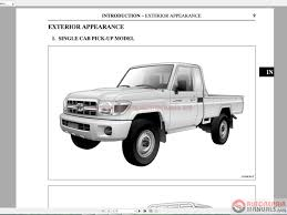 land cruiser 70 pickup toyota landcruiser 1984 2016 70 series gisc auto repair manual