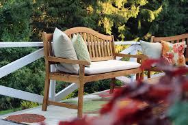classic new england fall porch indigo u0026 honey