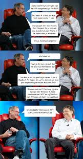 Bill Gates And Steve Jobs Meme - steve jobs vs bill gates memes quickmeme