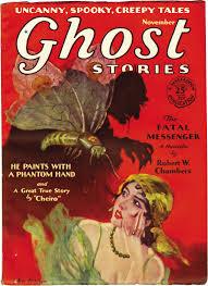 ghost stories u2013 pulp covers