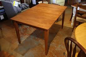 maple dining room furniture eency weency maple dining table with 2 leaves showroom model