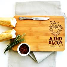 personalised cutting boards personalised chopping board when in doubt miss bold design