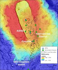 Hawaii Lava Flow Map Expedition To Axial Seamount 2013 2011 Lava Flows