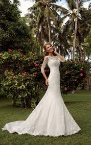 brown wedding dresses stylish mermaid trumpet wedding gowns fishtail bridal dresses