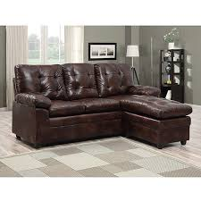 Faux Leather Sectional Sofa With Chaise Buchannan Faux Leather Sectional Sofa With Reversible Chaise