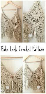 boho crochet crochet boho tank top bathing suits yarns and boho