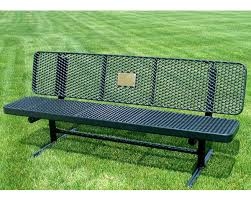 Benches In Park - sitting on picnic tables or park benches in green open spaces can