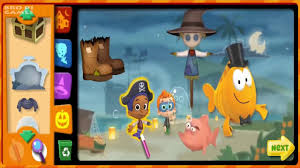 bubble guppies games halloween party nick jr games youtube