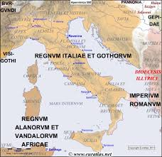 europe peninsulas map euratlas periodis web map of the apennine peninsula in 500