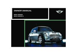 2002 mini cooper owners manual just give me the damn manual