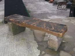 outdoor stone benches with backs stone bench with back stone