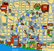 Wayne State Campus Map by Detroit People Mover Prt Railfan Guide