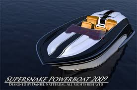 Power Boat Interiors Supersnake Powerboat With V8 Engine By Daniel Nätterdal Tuvie