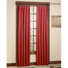 pinch pleat curtains for patio doors gabrielle pinch pleat thermal room darkening curtains