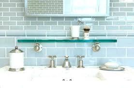 bathroom glass tile ideas gray subway tile backsplash glass subway tile bathroom glass tile