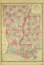 Map Louisiana by Louisiana Original Art Antique Maps U0026 Prints