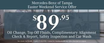 mercedes service offers mercedes ta change coupon service coupons ta