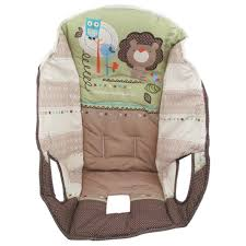 Fisher Price High Chair Replacement Cover Amazon Com Fisher Price Ez Clean High Chair Replacement Pad
