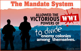 what was the purpose and significance of the mandate system