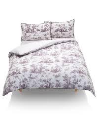 toile print bedding set m u0026s