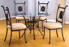Glass Dining Table And 6 Chairs Sale Bedroom Divine Round Glass Dining Table And Chairs Room Design