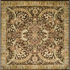6 X 6 Area Rug Fancy 6 Square Rug Alluring Square Area Rugs Fiber Brown