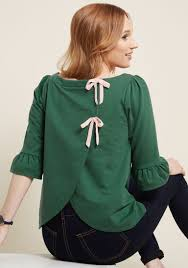 green womens blouse s green tops modcloth