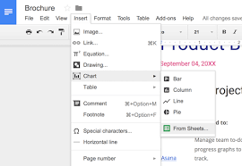 Google Docs Table How To Insert A Google Sheets Spreadsheet Into A Google Docs